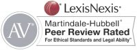 LexisNexis AV Peer Review Rated